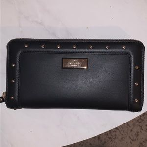 NEW Kate Spade black leather wallet